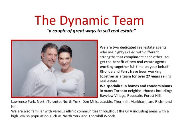 Real Estate Team Profile : Rhonda abony perry steinberg business profile