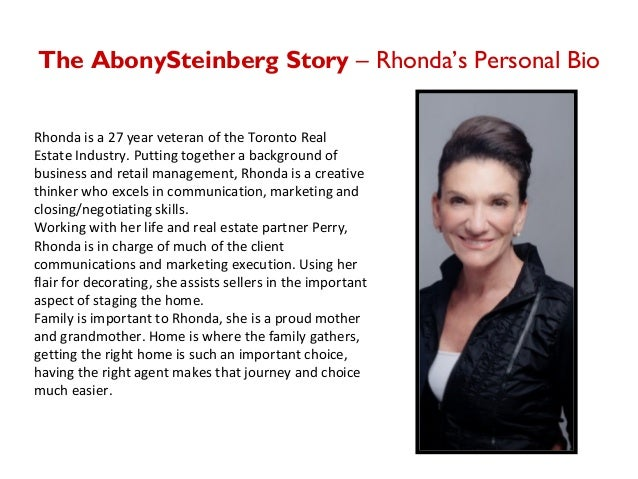 rhonda abony perry steinberg business profile. Black Bedroom Furniture Sets. Home Design Ideas