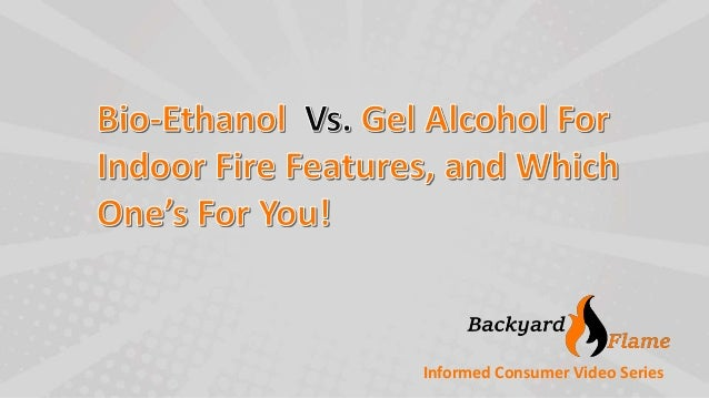 what 39 s the difference between liquid bio ethanol and gel ethanol