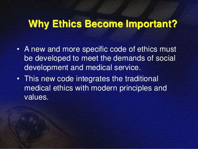 why personal ethics are important Why is business ethics important by melissa horton | updated march 30, 2018 — 8:15 am edt  personal finance standards and ethics for financial professionals.