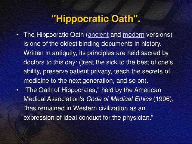 hippocrates essay
