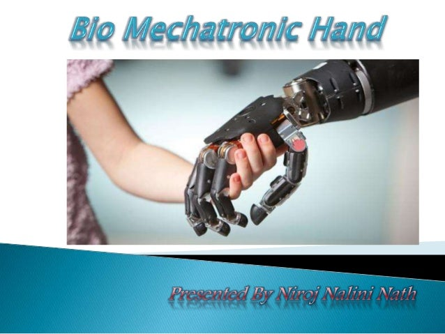 The objective of the work of an bio mechatronic is to develop an artificial hand which can be used for functional substitu...