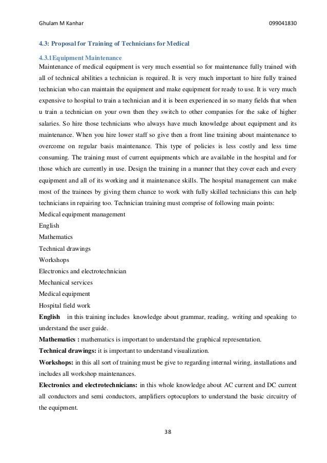 Bio medical equipment maintenance & management