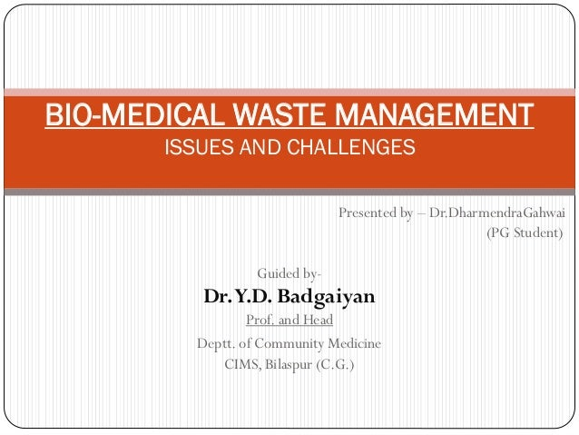Presented by – Dr.DharmendraGahwai (PG Student) Guided by- Dr.Y.D. Badgaiyan Prof. and Head Deptt. of Community Medicine C...