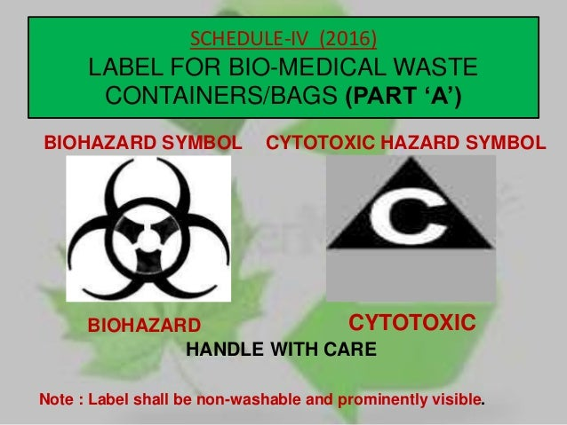 Bio Medical Waste Management 2016