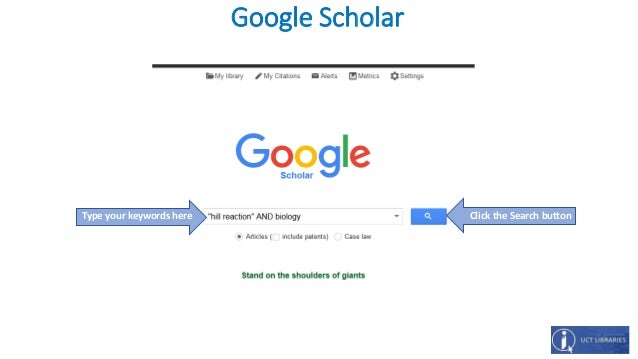 how to join google scholar