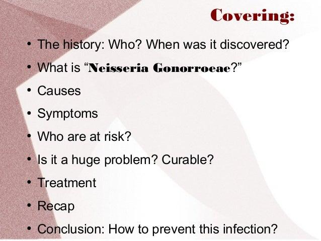 gonorrhea treatment men