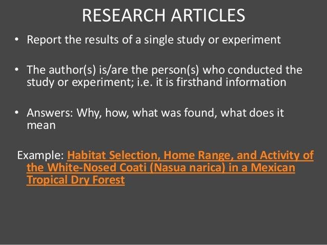 peer review literature