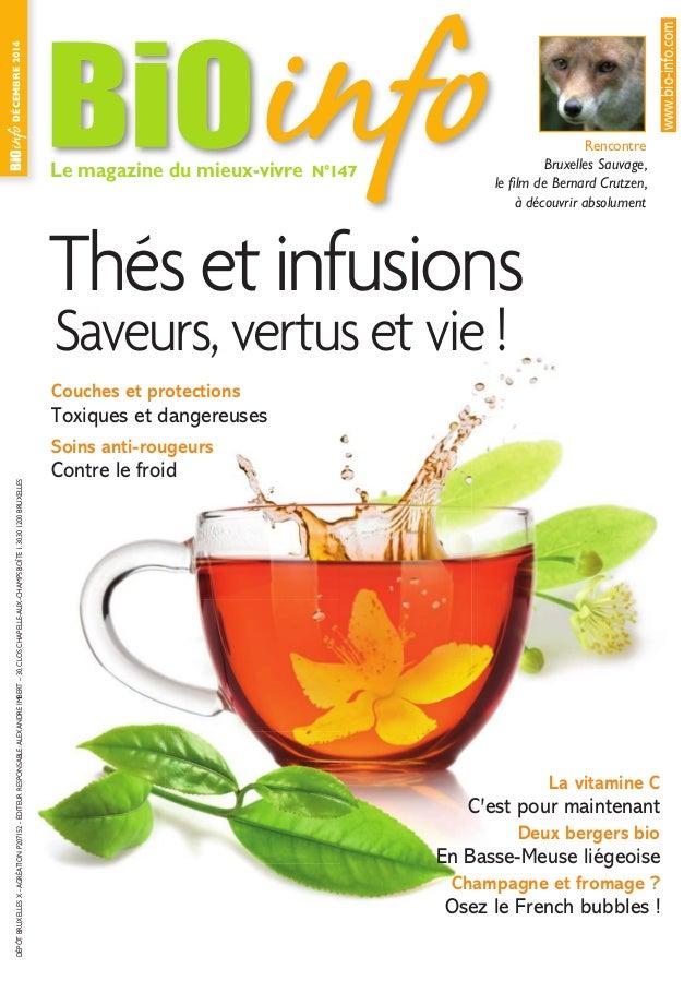 Le magazine du mieux-vivre N°147 DÉCEMBRE2014DÉPÔTBRUXELLESX-AGRÉATIONP207152-ÉDITEURRESPONSABLE:ALEXANDREIMBERT–30,CLOSCH...