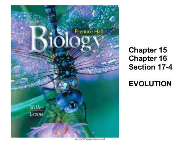 Copyright Pearson Prentice Hall Biology 