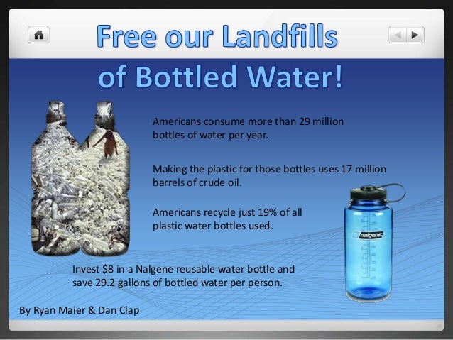 Free our Landfills of Bottled Water PSA | BIO 100