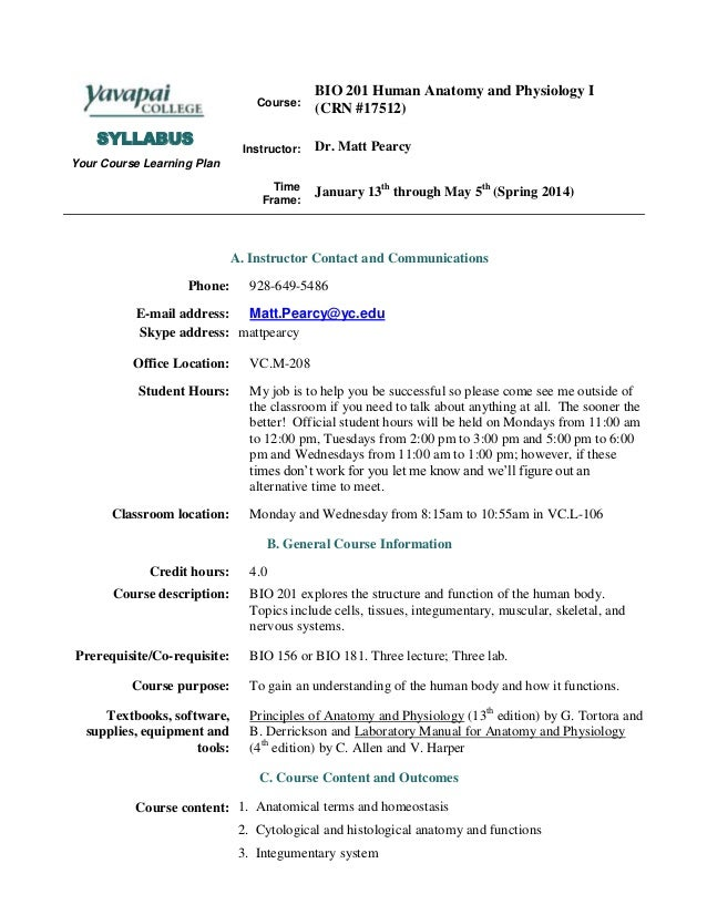 Aed 201 course syllabus
