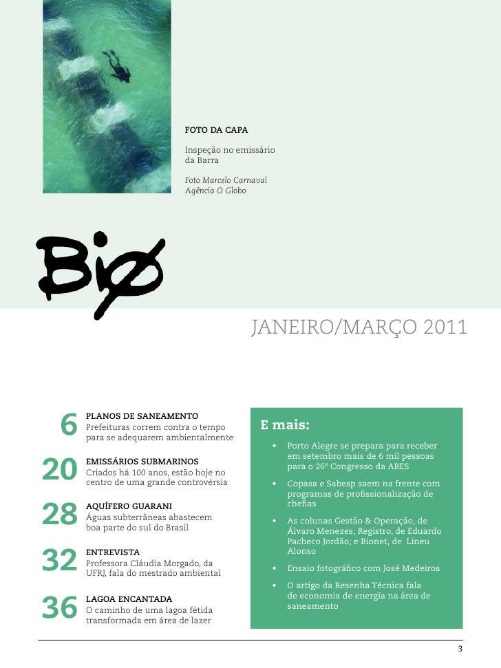 FOTO DA CAPA                            Inspeção no emissário                            da Barra                         ...