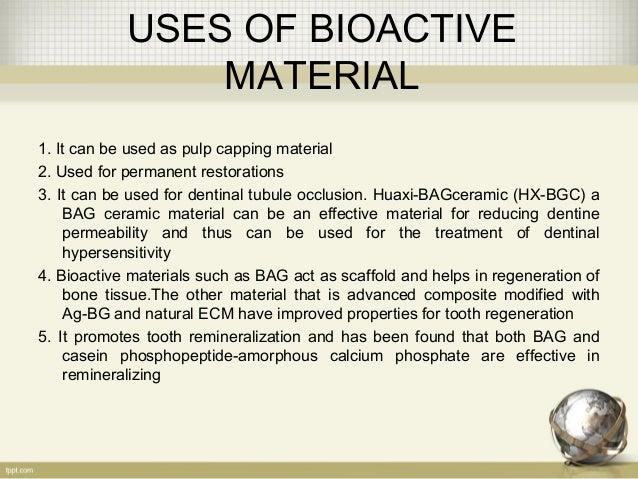 Bioactive Restorative Materials