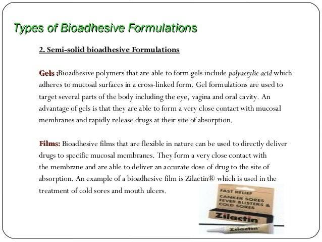 Bioadhesive