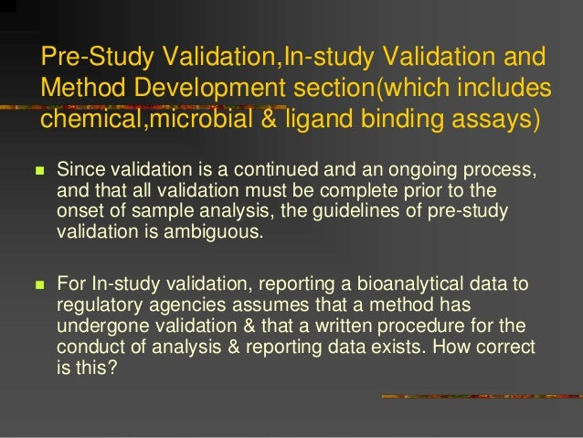 omcl guidelines for analytical method validation