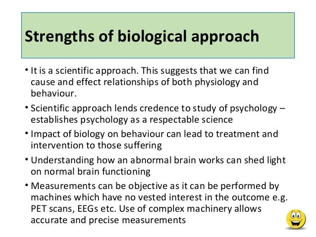 The cognitive approach of the strengths and weaknesses of the human behavior