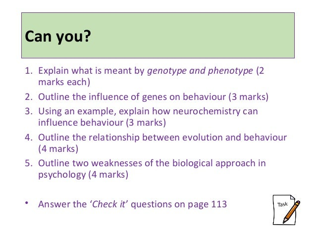 The Biological Approach Essay Checker - image 4
