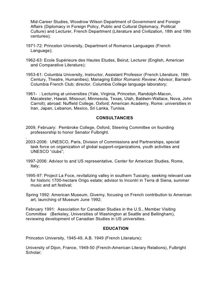 richard arndt personal resume feb 2009