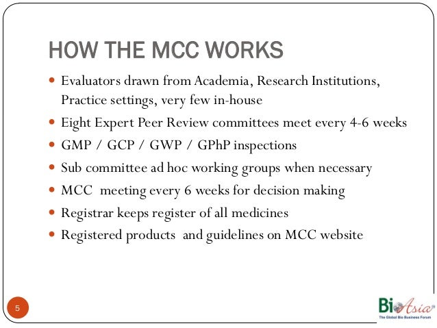 mcc south africa gmp guidelines