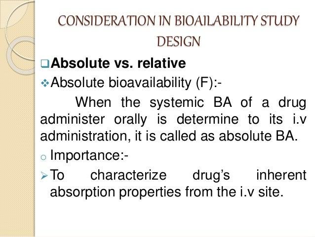 In vitro dissolution and bioavailability study of ...