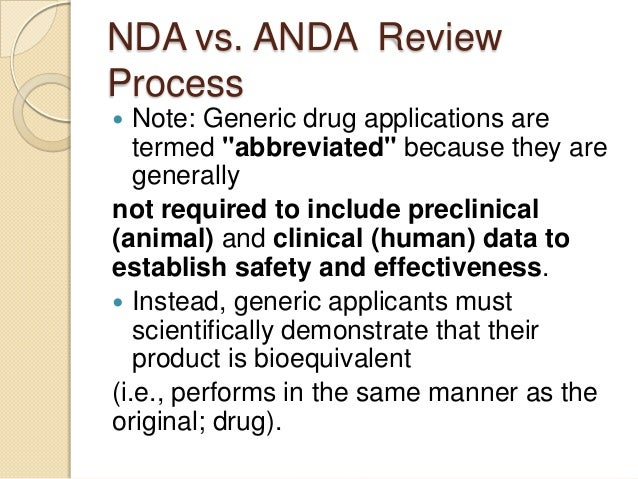 Patient Numbers Required In Clinical Endpoint ANDA Trials