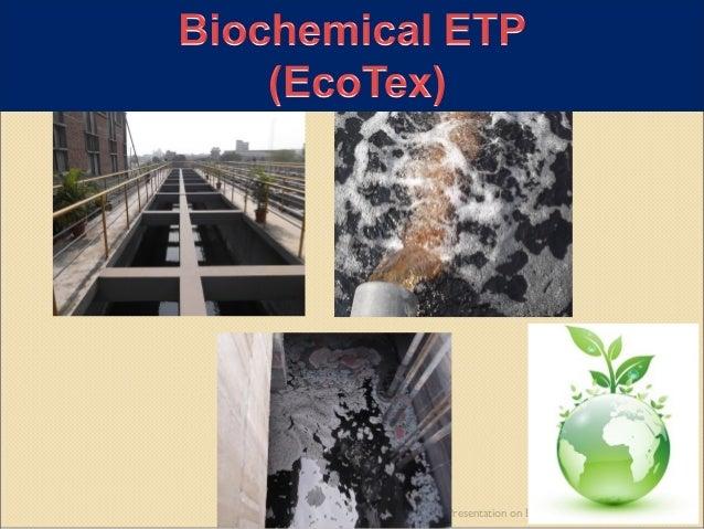 Presentation on Biochemical ETP 1