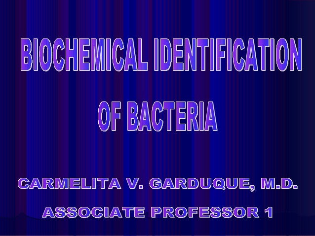 Determining the nutritional and metabolic capabilities of a bacterial isolate is the most common approach used for deter- ...