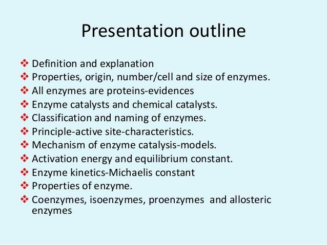 Biochemical principles of enzyme action Slide 2