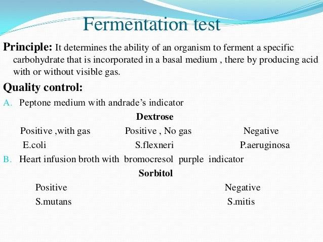 Fermentation tube