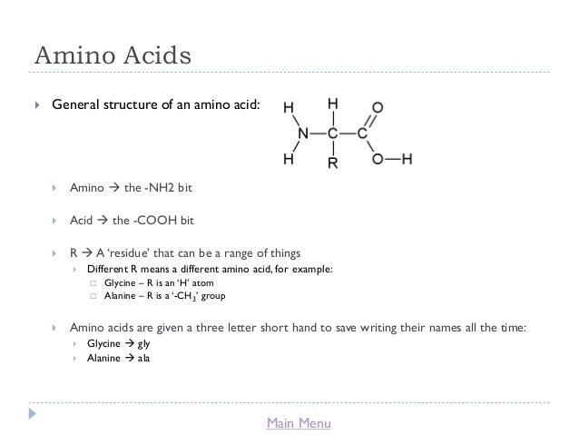 Identification of an Unknown Amino Acid Biochemistry Essay