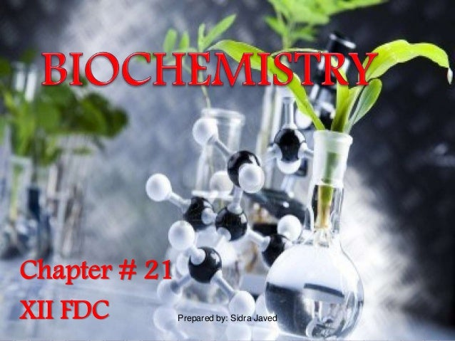 Chapter # 21 XII FDC Prepared by: Sidra Javed