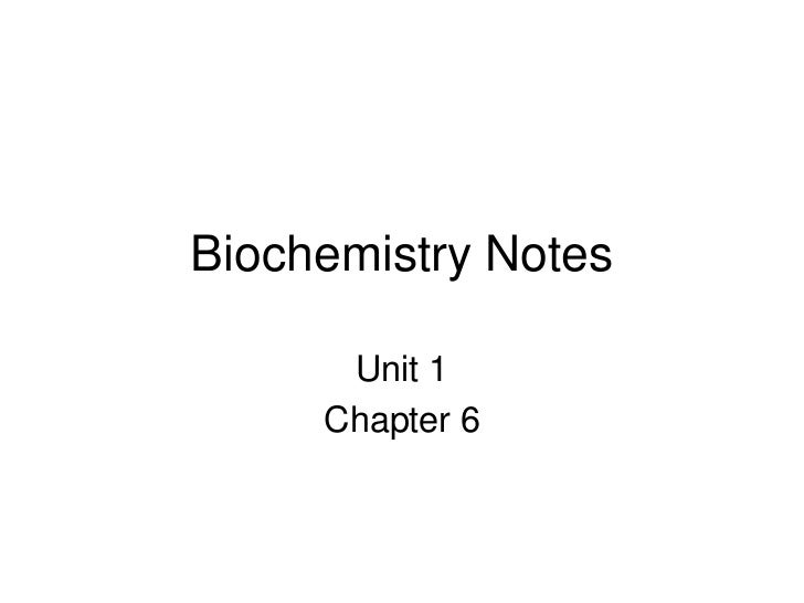 biochemistry notes Organic compound notes, macromolecule notes, organic molecule notes, biochemistry notes, enzyme notes the following is included in this zip folder: 1) biochemistry.