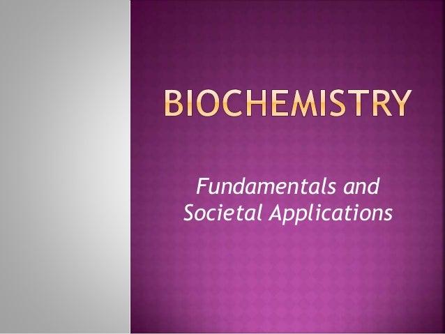 Fundamentals and Societal Applications