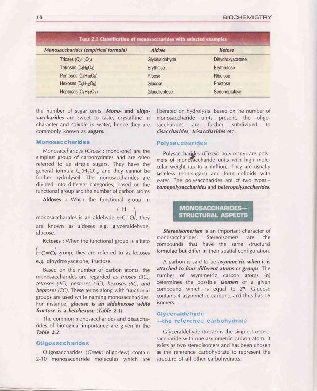 Ghapter 2 : CARBOHYDRATES 11 Trioses Glyceraldehyde Dihydroxyacetone Tetroses D-Erythrose Foundincellsasphosphate Foundinc...