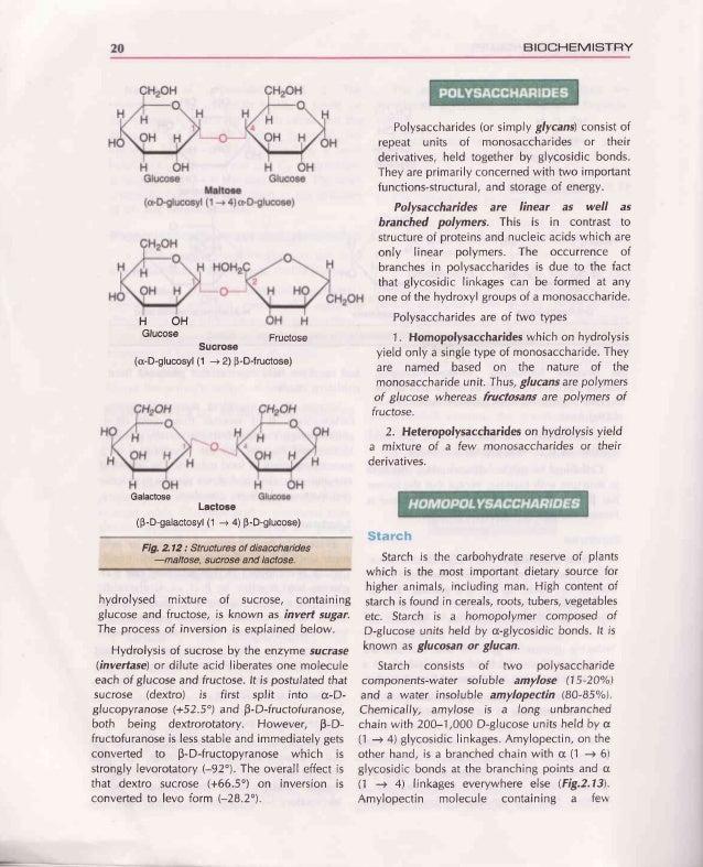 ChapteF 2 : CARBOHYDFATES 21 D-Glucose D-Glucose Amylopectin o-Amylose +- (1-* 6) Branch MainchainLg 6nu vt t2 thousandglu...
