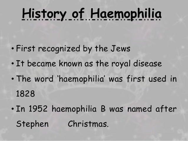 Bio chem presentation on hemophilia