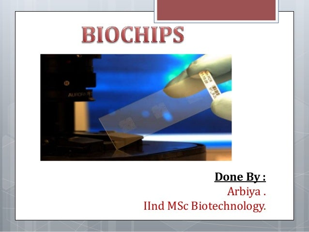 Done By : Arbiya . IInd MSc Biotechnology.