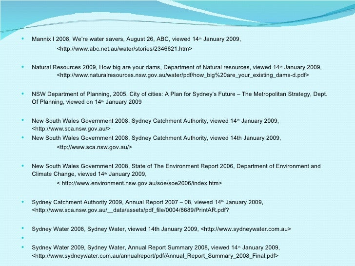 Sydney S Water Grey Water Water Efficiency Programs Desalination