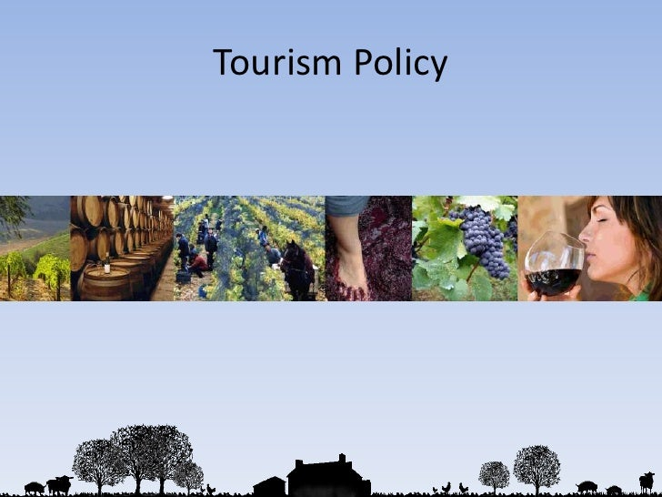 Tourism Policy<br />