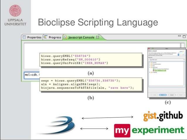 Bioclipse Scripting Language