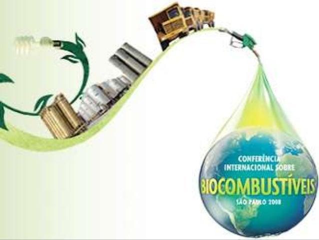 Introdução:Os Biocombustíveis são combustíveis deorigem biológica. São fabricados a partirde vegetais, tais como, milho, s...