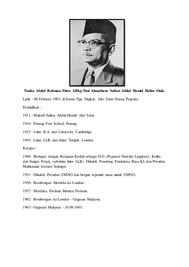 Tokoh Kemerdekaan Tun Abdul Razak Essay Gtvrnv Raodaf Info