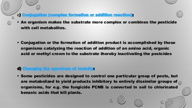 """biodegradation of xenobiotics Biodegradation according to the definition by the international union of pure and applied chemistry, the term biodegradation is """"breakdown of a substance catalyzed by enzymes in vitro or in vivo in other words, defined as the ability of microorganisms to convert toxic chemicals (xenobiotics) to simpler non-toxic compounds by synthesis of ."""