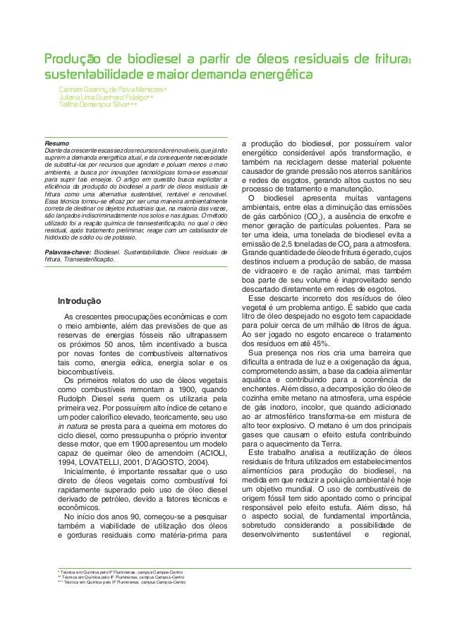 Bolsista de Valor: Revista de divulgação do Projeto Universidade Petrobras e IF Fluminense v. 1, p. 279-283, 2010 279 Prod...