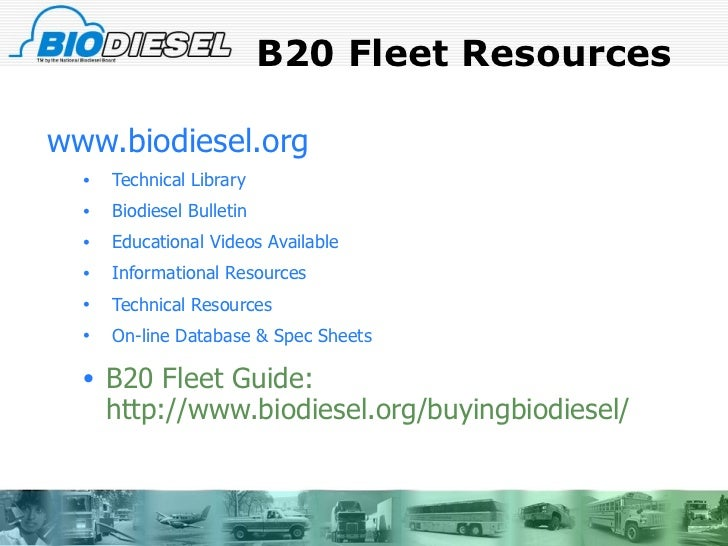 Biodiesel Incorporated Essay - 2795 Words | Major Tests