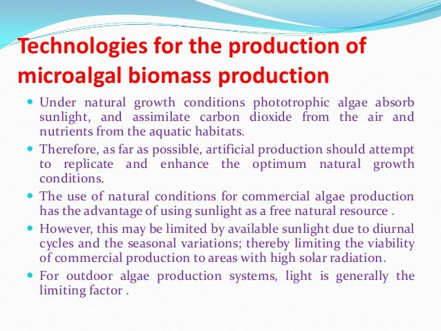 feasibility study on microalgal biofuel production Characterization andidentification of fr eshwater microalgal strains toward biofuel production   main parameters that determine the economic feasibility of using .
