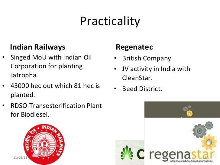 jatropha biodiesel business plan in india