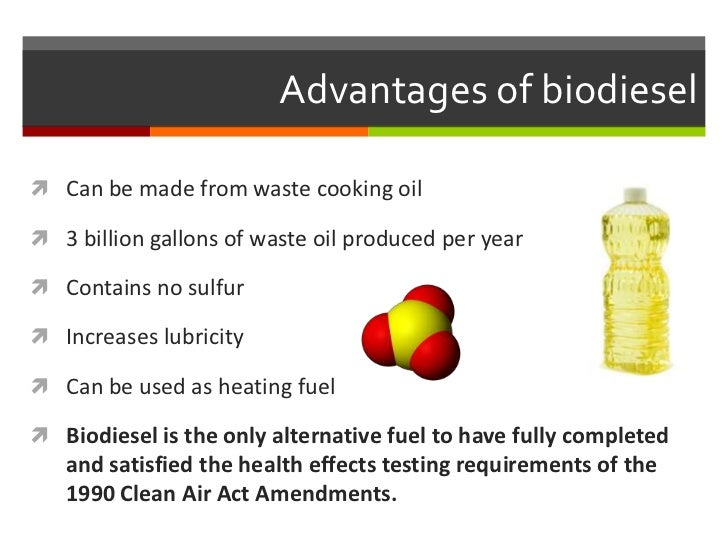 biodiesel as an alternative fuel Alternative automotive fuel biodiesel is a fastest growing alternative fuel and india has better resources  mahua biodiesel as an alternative fuel for ci engine:.