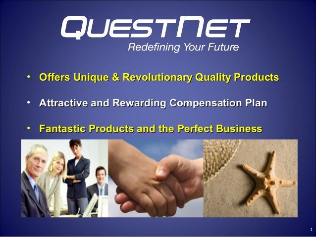 • Offers Unique & Revolutionary Quality Products• Attractive and Rewarding Compensation Plan• Fantastic Products and the P...